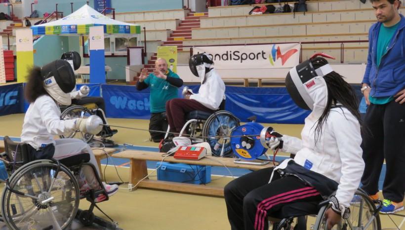 Eaubonne : dans la peau de sportifs handicapés