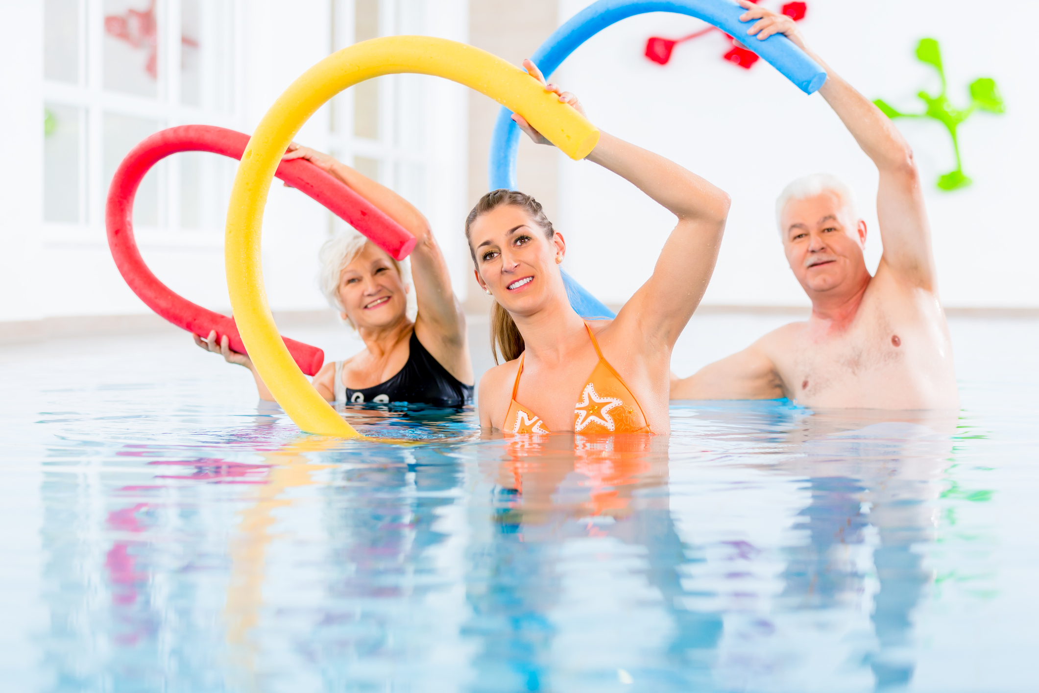 L'aquagym, le sport idéal contre l'arthrose du genou