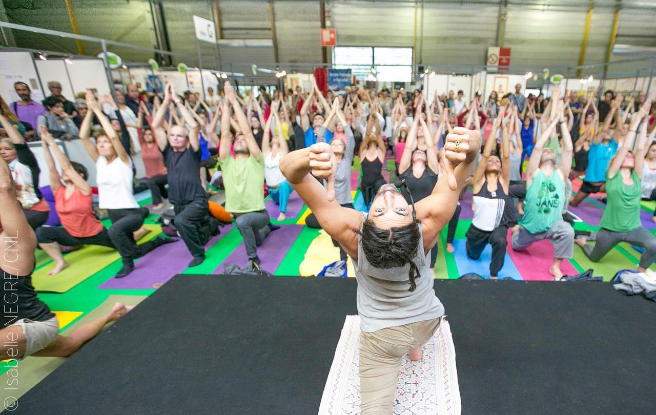 Salon du yoga à Paris : zen, soyons zen