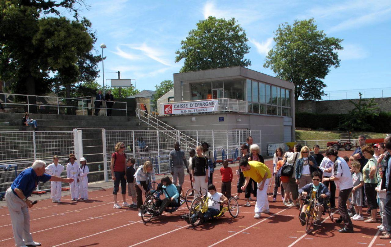 Versailles : handicapés et valides réunis par le sport