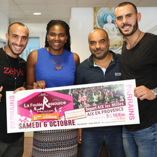 Aix-en-Provence : des sportifs de haut niveau parrains de la Foulée Ressource