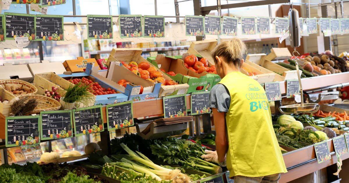 Le marché de l'alimentation bio explose en France